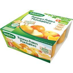 Dessert pommes poires mandarines, dès 8 mois