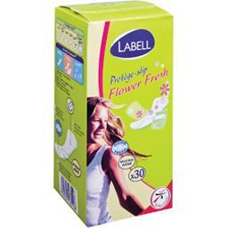 Flower Fresh - Protège-slip parfumé, micro-aéré