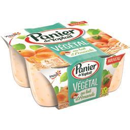 Végétal - Spécialité au lait d'amande abricot