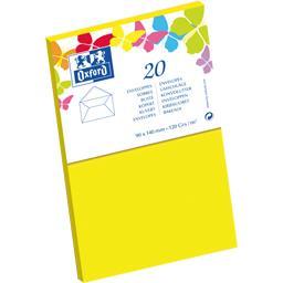Enveloppe 9x14 120 g jaune gommée patte pointue de v...