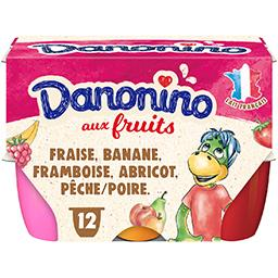 Danone Danone Danonino - Fromage blanc sucré aux fruits