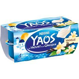 Yaos - Le Yaourt à la Grecque vanille