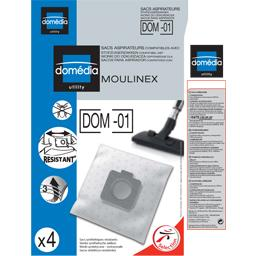 Sacs aspirateurs DOM-01 compatibles Moulinex