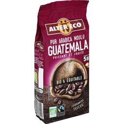 Café moulu pur arabica Guatemala BIO