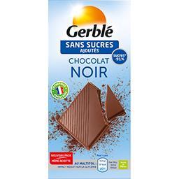 Chocolat noir sans sucres ajoutés