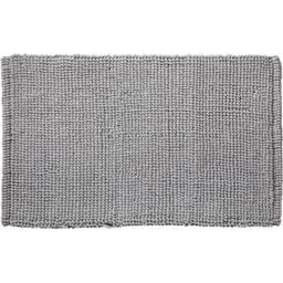 Tapis de bain microfibre chenille Bali 50x80 cm gris