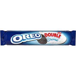 Double biscuits cacaotés goût vanille
