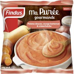 Purée des patates douces, courge butternut & crème f...