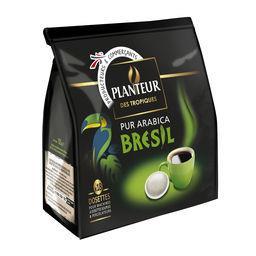 Café dosettes pur arabica Brésil
