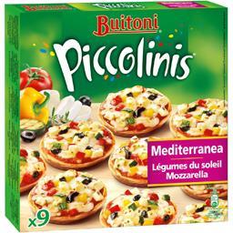 Piccolinis - Mini-pizzas Mediterranea