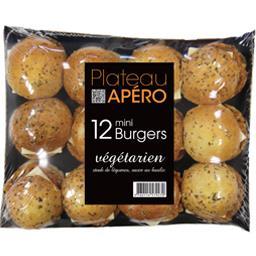 Plateau Apéro mini Burgers végétarien