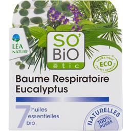 Baume Respiratoire eucalyptus 7 huiles essentielles