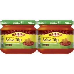 Sauce apéritif Salsa Dip aux oignons et aux poivrons, doux