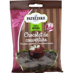 La Patelière 100% Naturel - Palets chocolat de couverture le sachet de 100 g