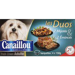 Emincés et mijotés Les Duos pour chiens adultes