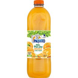 100% Pur Jus - Jus orange avec pulpe