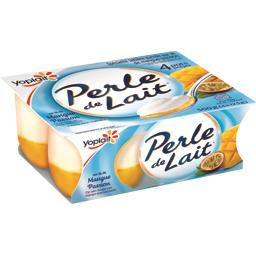 Perle de Lait - Spécialité laitière sur lit de mangu...