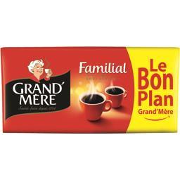 Grand'Mère Café moulu Familial
