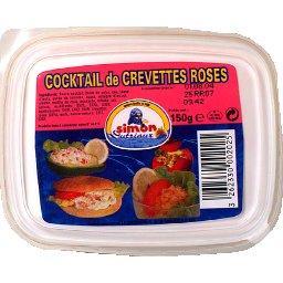 Salade de crevettes roses sauce cocktail