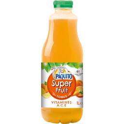 Vitalité, Jus de 5 fruits et de carotte enrichi en v...