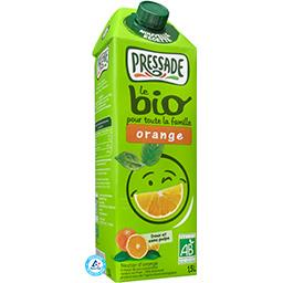 Pressade Nectar orange BIO sans pulpe