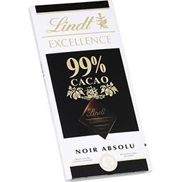 Chocolat noir absolu, 99% de cacao