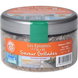Sauniers Ile de Ré Les Episalées de l'Île de Ré saveur grillades le pot de 200 g