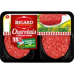Steak haché charolais basse pression 15%MG