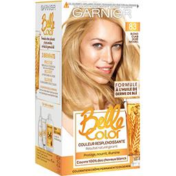 Belle Color blond clair doré naturel, coloration per...