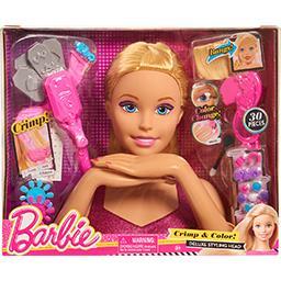 Tête à coiffer Barbie Deluxe