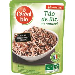 Trio de riz au naturel BIO
