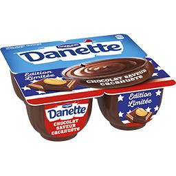 Danette - Crème chocolat saveur cacahuète