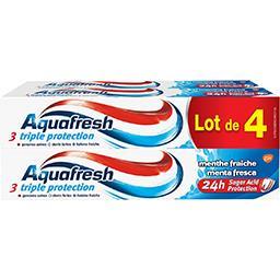 Aquafresh Dentifrice Blancheur menthe fraiche