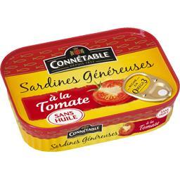 Sardines généreuses à la tomate sans huile