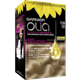 Olia - Coloration permanente Blond Beige Foncé 7.13
