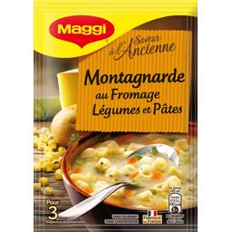 Saveur à l'Ancienne - Soupe montagnarde, fromage lég...