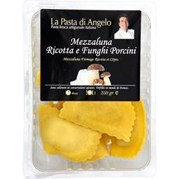 Mezzaluna fromage ricotta et cèpes