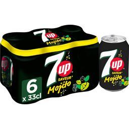 Seven Up Soda Mojito