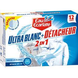 Sachets  Ultra blanc + Détacheur