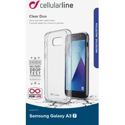 Coque silicone bi matière translucide Samsung Galaxy A32017