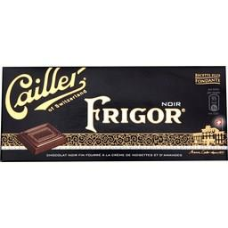 Chocolat noir fourré crème de noisette et d'amandes - Frigor