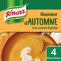 Soupe Douceur d'Automne à la crème fraîche
