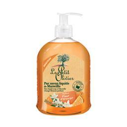 Pur savon liquide de Marseille parfum fleur d'orange...