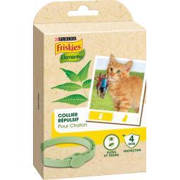 Collier répulsif Elementia puces et tiques pour chaton