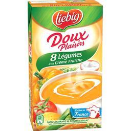 Doux Plaisirs - Soupe 8 légumes à la crème fraîche