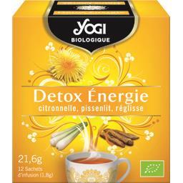 Yogi Biologique Infusion Detox Energie BIO la boite de 12 sachets - 21,6 g