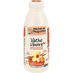 Yaourt Vache à Boire vanille de Madagascar