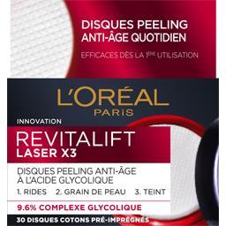 Revitalift Laserx3 - Disques peeling anti-âge