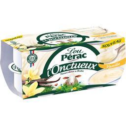 Yaourt doux L'Onctueux de brebis vanille