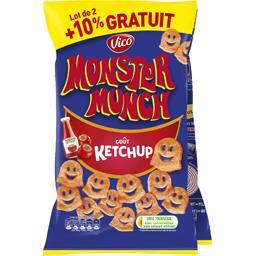 Monster Munch Vico  - Biscuits apéritif goût ketchup